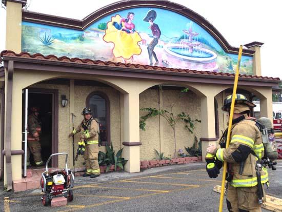 <div class='meta'><div class='origin-logo' data-origin='KTRK'></div><span class='caption-text' data-credit='KTRK'>Damage seen at the Mexico Lindo restaurant at 6500 Fondren following a devastating fire</span></div>