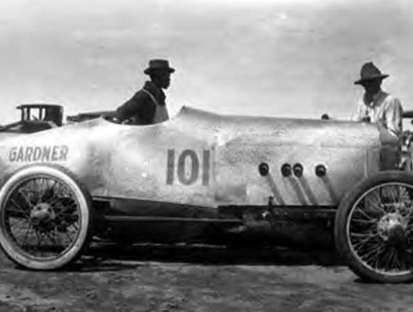 "<div class=""meta image-caption""><div class=""origin-logo origin-image ktrk""><span>KTRK</span></div><span class=""caption-text"">Race car at South Houston Racetrack. ""Gardner 101"" painted on side of car.  (Houston Public Library)</span></div>"