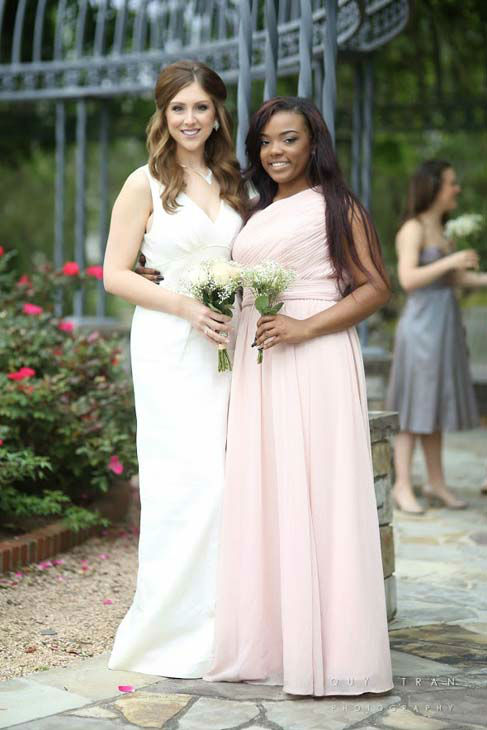 <div class='meta'><div class='origin-logo' data-origin='none'></div><span class='caption-text' data-credit='KTRK Photo/ Quy Tran Photography'>Thrift store blog Too Cheap Blondes found all of these dresses for $2 each at Houston-area Family Thrift Outlet stores.</span></div>