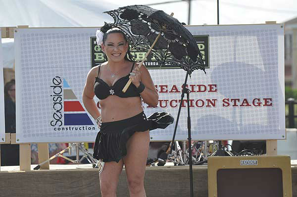 Galveston&#39;s Bathing Beauties Contest, held Saturday, May 17, 2014, highlighting the Galveston Island Beach Revue weekend. <span class=meta>(KTRK Photo&#47; Gina Larson)</span>