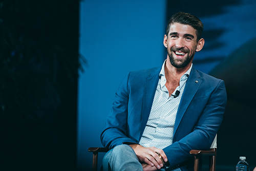 <div class='meta'><div class='origin-logo' data-origin='KTRK'></div><span class='caption-text' data-credit='Allen S. Kramer/Texas Children's Hospital.'>Michael Phelps was honored as the 12th legend at the annual An Evening with a Legend event benefiting Texas Children's Cancer Center</span></div>