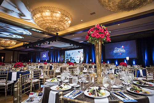 <div class='meta'><div class='origin-logo' data-origin='KTRK'></div><span class='caption-text' data-credit='Allen S. Kramer/Texas Children's Hospital.'>Nearly 650 guests enjoyed an unforgettable evening at the Hilton Americas' Ballroom of the Americas for the 12th annual An Evening with a Legend event honoring Michael Phelps</span></div>