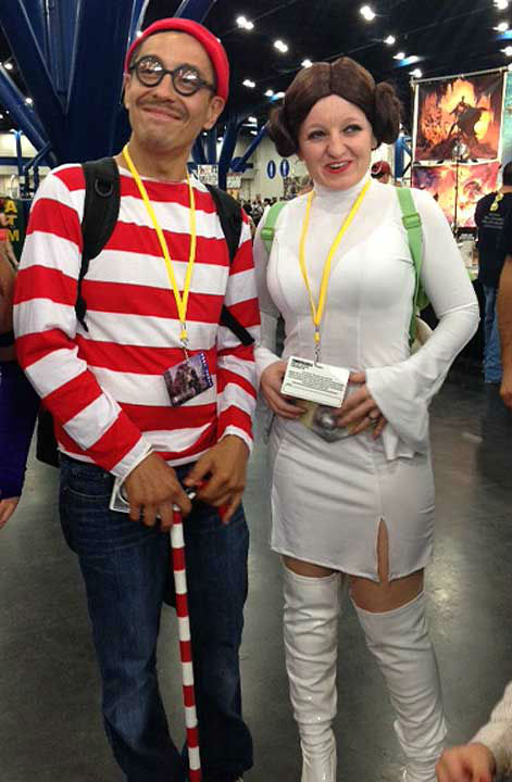Comicpalooza brought fans of all varieties to the George R Brown Convention Center, May 23-26, 2014 <span class=meta>(KTRK Photo)</span>