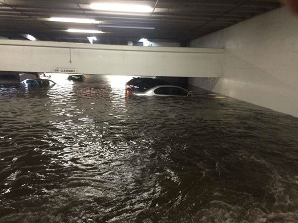 <div class='meta'><div class='origin-logo' data-origin='none'></div><span class='caption-text' data-credit='Photo/iWitness Photo'>This photo is from a parking garage at Richmond and Edloe. If you have photos, email them to news@abc13.com or upload them using #abc13eyewitness</span></div>