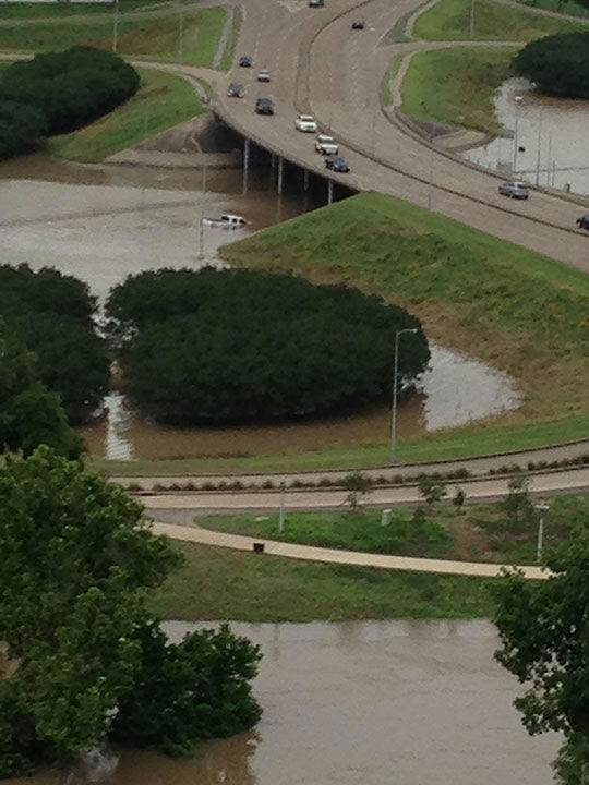<div class='meta'><div class='origin-logo' data-origin='none'></div><span class='caption-text' data-credit='Photo/ABC-13 viewers'>Eyewitness News viewers sent these photos of flooding across the city of Houston</span></div>