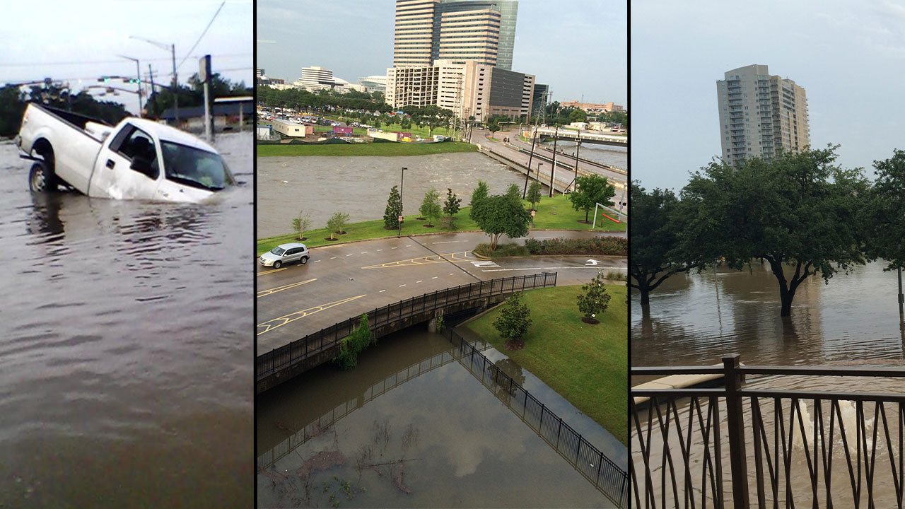 Houston weather causes major Texas flooding; death toll ...