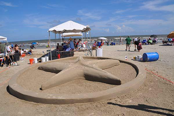 Beach bikini contest east galveston