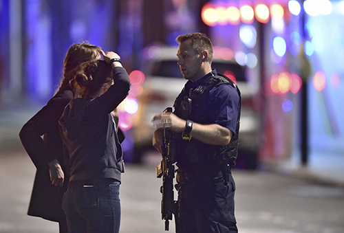 Police declare hit-and-run, stabbing terrorism at London Bridge