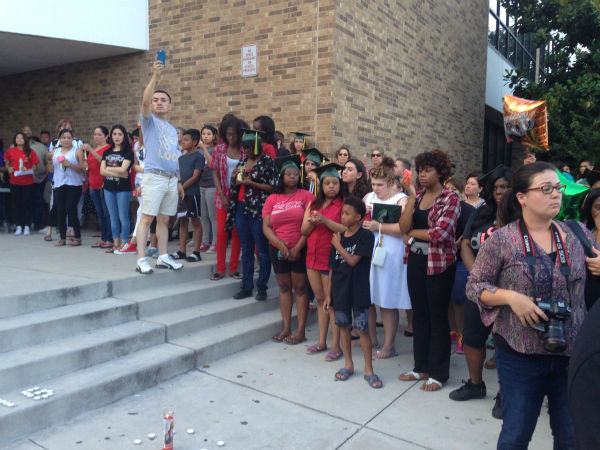 Vigil held for Klein Forest HS student killed on way to graduation ...