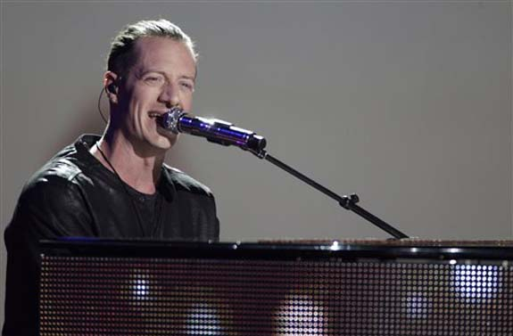 """<div class=""""meta image-caption""""><div class=""""origin-logo origin-image none""""><span>none</span></div><span class=""""caption-text"""">Tyler Hubbard, of Florida Georgia Line, performs â??H.O.L.Y.â??at the CMT Music Awards at the Bridgestone Arena on Wednesday, June 8, 2016, in Nashville, Tenn. (Wade Payne/Invision/AP)</span></div>"""