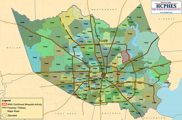Harris County Zip Code Map | Zip Code MAP