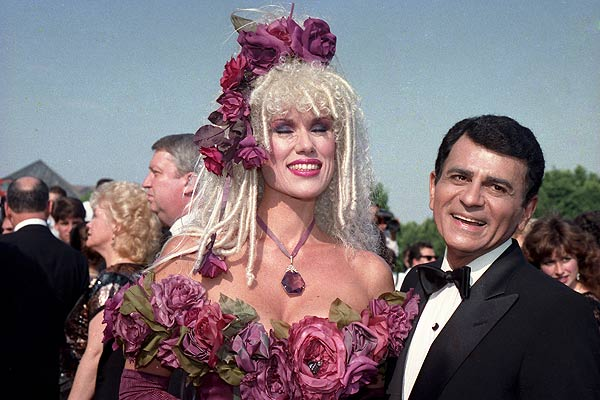 In this Sept. 20, 1987 photo, Casey Kasem, along with his wife Jean Kasem, arrives at the Emmy Awards in Los Angeles <span class=meta>AP Photo</span>