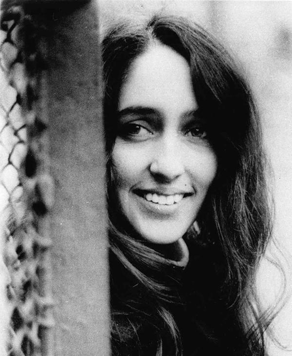 <div class='meta'><div class='origin-logo' data-origin='AP'></div><span class='caption-text' data-credit=''>A Jan. 13, 1967 photo of Joan Baez, folk singer.</span></div>