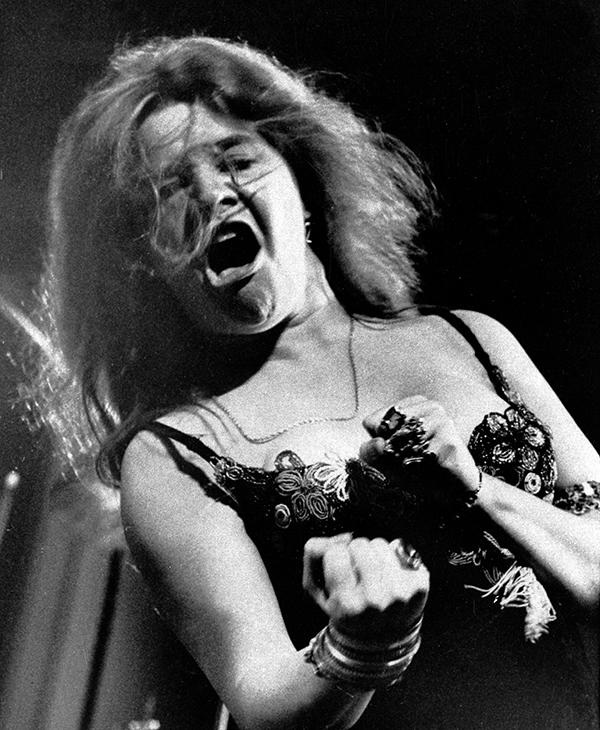 <div class='meta'><div class='origin-logo' data-origin='AP'></div><span class='caption-text' data-credit='AP Photo'>Singer Janis Joplin performs at the Newport Folk Festival with her band Big Brother and the Holding Company.</span></div>