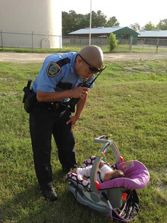 These are photos from Monday morning's Amber Alert in north Houston <span class=meta></span>