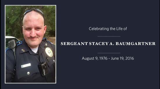 <div class='meta'><div class='origin-logo' data-origin='KTRK'></div><span class='caption-text' data-credit='KTRK'>Fallen Patton Village officer, Sgt. Stacey Baumgartner, was remembered today in The Woodlands.</span></div>