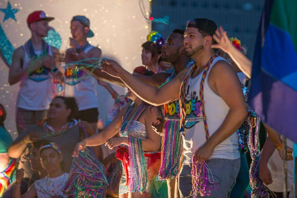<div class='meta'><div class='origin-logo' data-origin='none'></div><span class='caption-text' data-credit='KTRK Photo/ David Mackey'>Houston celebrated at the Pride Festival and Parade for the first time downtown following the landmark Supreme Court decision on same-sex marriage</span></div>