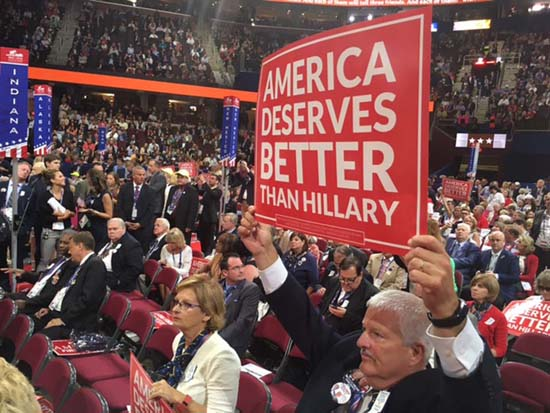 <div class='meta'><div class='origin-logo' data-origin='KTRK'></div><span class='caption-text' data-credit=''>The Republican National Convention inside Quicken Loans Arena in Cleveland.</span></div>