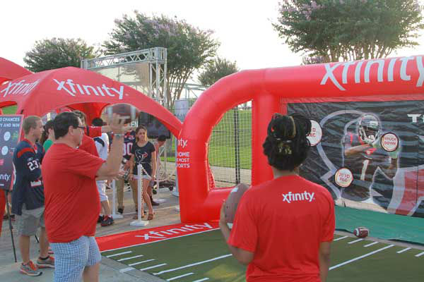A moment from Day 1 of Texans training camp <span class=meta>ABC Photo/ KTRK</span>