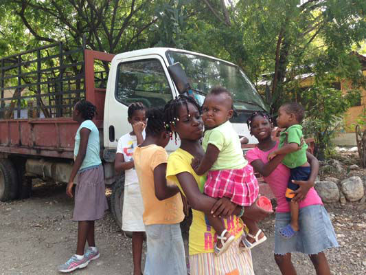 <div class='meta'><div class='origin-logo' data-origin='none'></div><span class='caption-text' data-credit='KTRK Photo'>ABC-13 anchor/reporter Samica Knight traveled to Haiti with local Houston teens who spent part of their summer volunteering at an orphanage.</span></div>