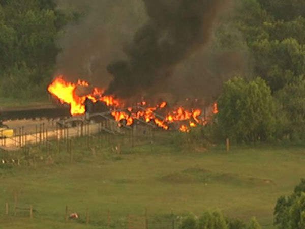 <div class='meta'><div class='origin-logo' data-origin='none'></div><span class='caption-text' data-credit='Photo/KTRK'>At least six horses died in a fast moving fire early Tuesday morning, according to officials.</span></div>