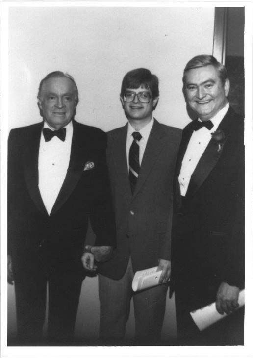 "<div class=""meta image-caption""><div class=""origin-logo origin-image none""><span>none</span></div><span class=""caption-text"">Dave Ward with his son David Jr. and Bob Hope (KTRK Photo)</span></div>"