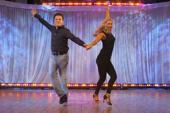 <div class='meta'><div class='origin-logo' data-origin='AP'></div><span class='caption-text' data-credit='AP Photo/Andy Kropa'>Donny Osmond, left, and his partner Kym Johnson, winners of the reality dance competition &#34;Dancing with the Stars,&#34; appear on ABC's &#34;Good Morning America&#34;</span></div>