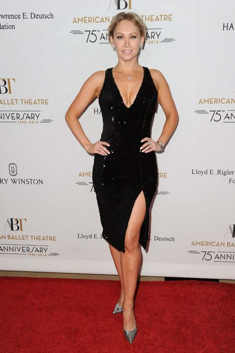 <div class='meta'><div class='origin-logo' data-origin='AP'></div><span class='caption-text' data-credit='Richard Shotwell/Invision/AP'>Kym Johnson attends American Ballet Theatre's 75th Anniversary Holiday Benefit</span></div>