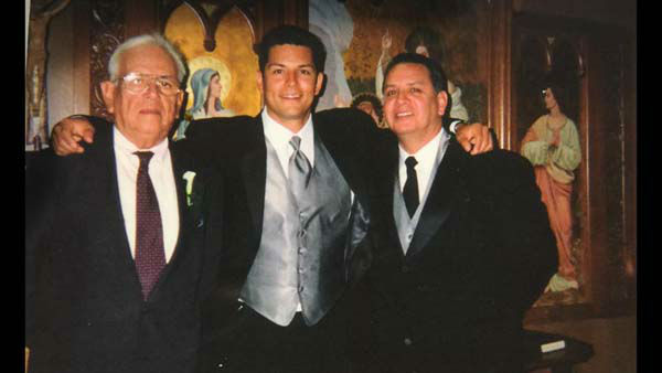 "<div class=""meta image-caption""><div class=""origin-logo origin-image none""><span>none</span></div><span class=""caption-text"">Erik Barajas with his family on his wedding day, 14 years ago (KTRK Photo)</span></div>"