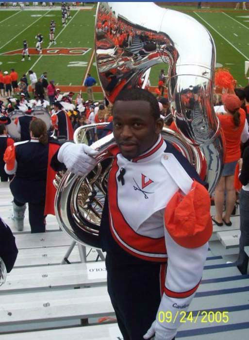 "<div class=""meta image-caption""><div class=""origin-logo origin-image none""><span>none</span></div><span class=""caption-text"">Tracy Clemons played in the band at the University of Virginia (KTRK Photo)</span></div>"