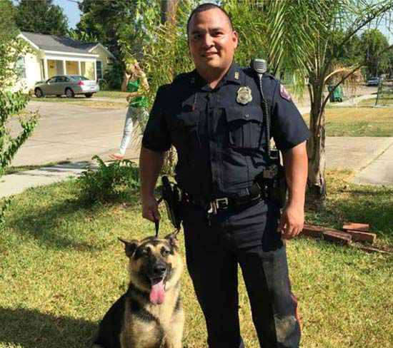 Dog Trapped Under House Rescued By Pasadena Police