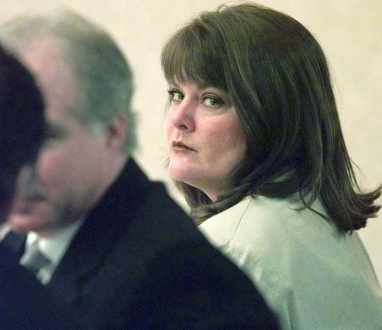 <div class='meta'><div class='origin-logo' data-origin='AP'></div><span class='caption-text' data-credit='AP Photo/Scott Varley'>Susan Eubanks, the admitted killer of her four sons, was sentenced to the death penalty.</span></div>