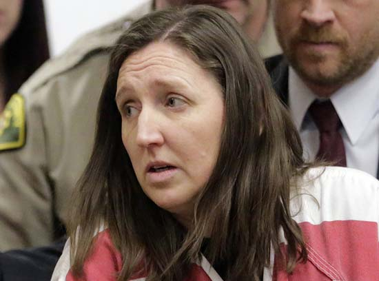 <div class='meta'><div class='origin-logo' data-origin='AP'></div><span class='caption-text' data-credit='AP Photo/Rick Bowmer'>Megan Huntsman was sentenced up to life in prison in the killings of six of her babies that she stored in her garage in Pleasant Grove, Utah</span></div>