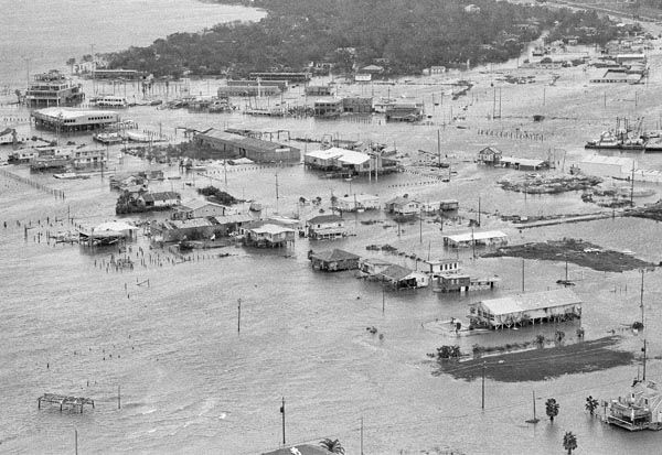 <div class='meta'><div class='origin-logo' data-origin='none'></div><span class='caption-text' data-credit='AP Photo/ XJFM JM**LIB**'>Galveston Bay over flows its banks into Seabrook, Texas early Thursday morning, August 19, 1983.</span></div>