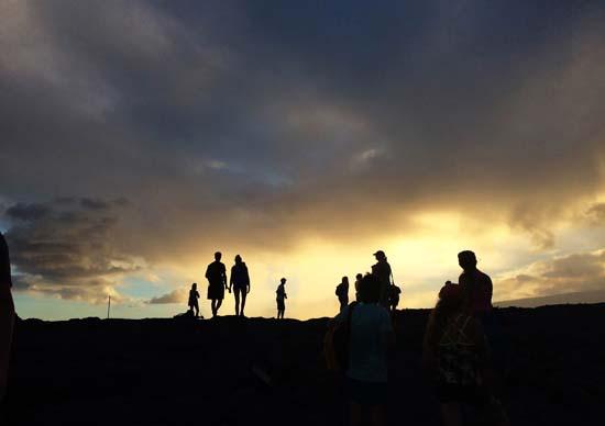 "<div class=""meta image-caption""><div class=""origin-logo origin-image ap""><span>AP</span></div><span class=""caption-text"">Visitors hike onto a lava flow from Kilauea, an active volcano on Hawaii's Big Island (AP Photo/Caleb Jones)</span></div>"