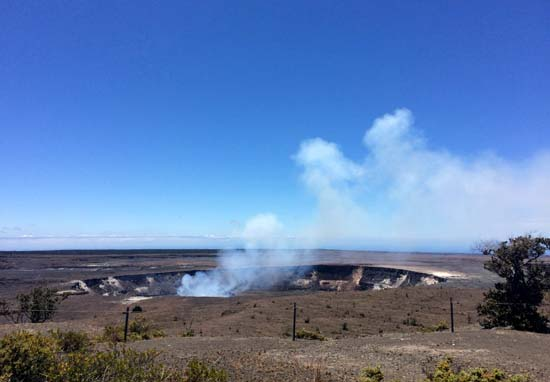 """<div class=""""meta image-caption""""><div class=""""origin-logo origin-image ap""""><span>AP</span></div><span class=""""caption-text"""">Steam and gas rise from the summit crater atop Kilauea, an active volcano on Hawaii's Big Island, in Volcanoes National Park, Hawaii. (AP Photo/Caleb Jones)</span></div>"""