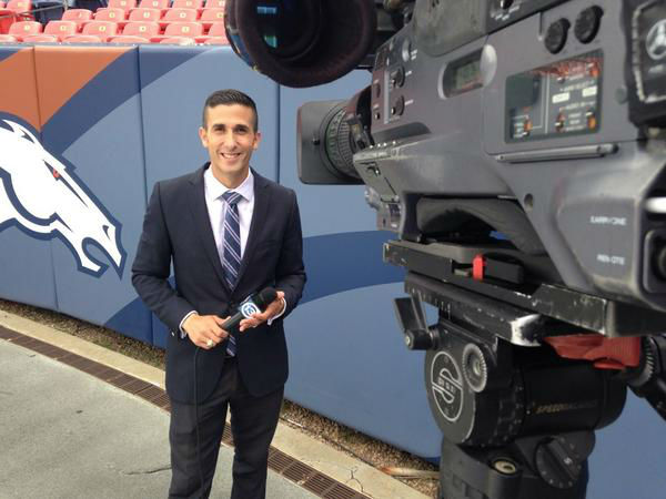 ABC-13 David Nuno ready for his live shots from Denver, Colorado <span class=meta></span>
