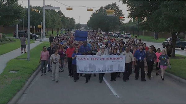 <div class='meta'><div class='origin-logo' data-origin='none'></div><span class='caption-text' data-credit='KTRK Photo'>Huge crowd gathers at prayer walk to remember Deputy Goforth in NW Harris County</span></div>