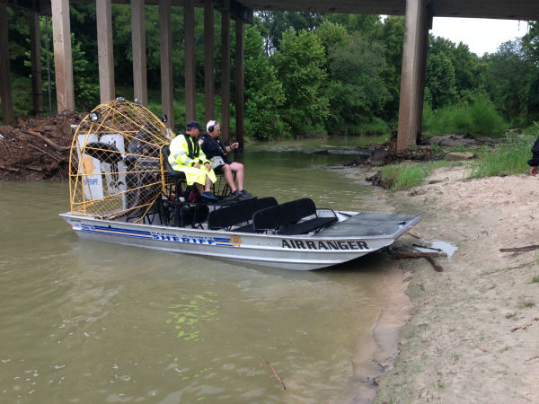 <div class='meta'><div class='origin-logo' data-origin='none'></div><span class='caption-text' data-credit=''>A search is underway for a missing kayaker in Cypress Creek.</span></div>