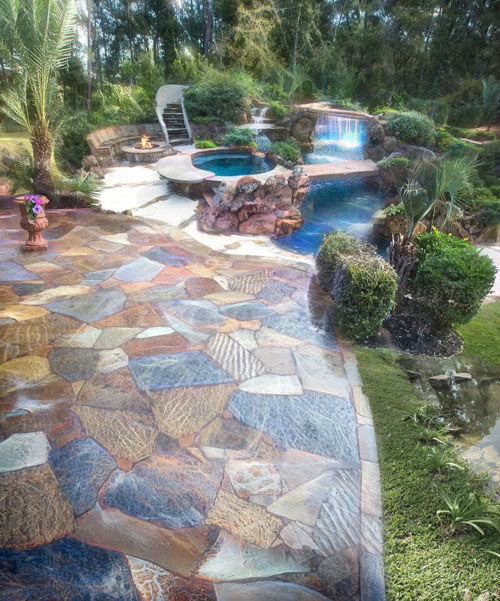 <div class='meta'><div class='origin-logo' data-origin='none'></div><span class='caption-text' data-credit='John Guild'>These are photos are from different homes Master Pool Designer Joe DiPaulo has designed throughout the years.</span></div>