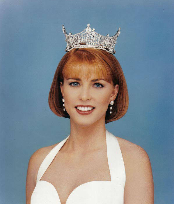 "<div class=""meta image-caption""><div class=""origin-logo origin-image none""><span>none</span></div><span class=""caption-text"">1996 - Shawntel Smith - Muldrow, OK   (Photo/Miss America Organization)</span></div>"