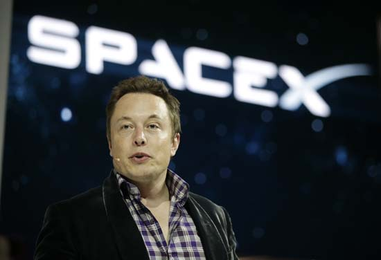 <div class='meta'><div class='origin-logo' data-origin='AP'></div><span class='caption-text' data-credit='AP Photo/Jae C. Hong'>Elon Musk, CEO and CTO of SpaceX, introduces the SpaceX Dragon V2 spaceship at the SpaceX headquarters in Hawthorne, CA</span></div>