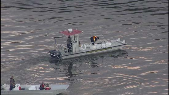 <div class='meta'><div class='origin-logo' data-origin='KTRK'></div><span class='caption-text' data-credit=''>Crews respond to contain a fuel leak in the Houston Ship Channel</span></div>