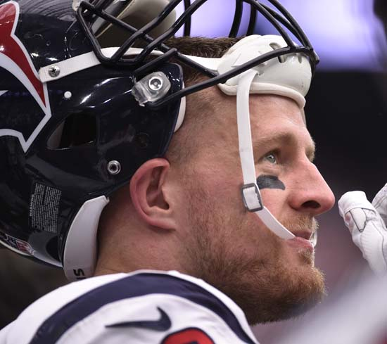 "<div class=""meta image-caption""><div class=""origin-logo origin-image ap""><span>AP</span></div><span class=""caption-text"">Houston Texans defensive end J.J. Watt (99) is shown during the first half of an NFL football game Sunday, Sept. 10, 2017, in Houston. (AP Photo/Eric Christian Smith) (AP)</span></div>"