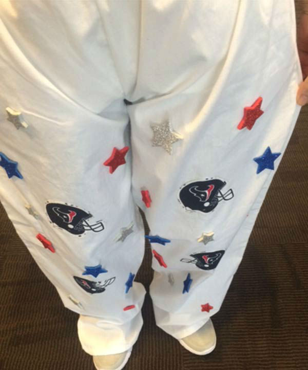 <div class='meta'><div class='origin-logo' data-origin='none'></div><span class='caption-text' data-credit='Photo/Casey Curry'>The Bad Pants Open Fashion Show was held today. The event benefits the Newborn Center at Texas Children's Hospital.</span></div>