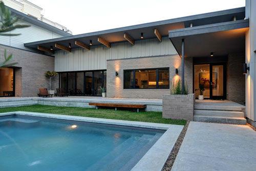 Cool spaces 2015 houston modern home tour for Mid century modern architects houston