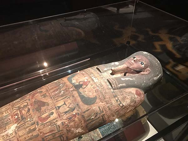 "This traveling exhibit is ""digging in"" to showcase human and animal mummified remains from every region of the world, including Europe, South America and ancient Egypt."