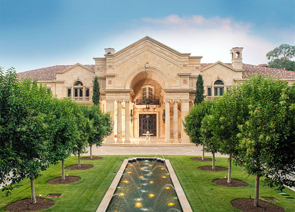 <div class='meta'><div class='origin-logo' data-origin='none'></div><span class='caption-text' data-credit=''>For $43 million, this 8-bedroom, 7-full bath, 4-partial bath home in Houston's Memorial area could be yours. (Credit: Rob Muir)</span></div>