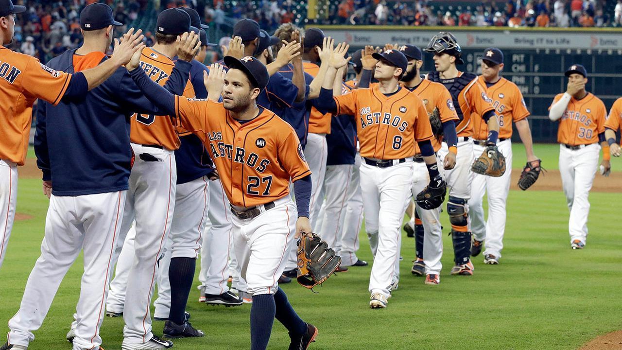 Astros Rangers