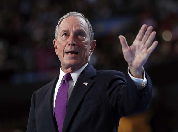 <div class='meta'><div class='origin-logo' data-origin='AP'></div><span class='caption-text' data-credit='AP Photo/Carolyn Kaster'>No. 6: Former New York City Mayor Michael Bloomberg is worth $45B.</span></div>
